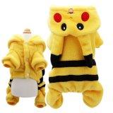 Accessoires pour animaux de compagnie Pikachu Halloween Warm Dog Costume