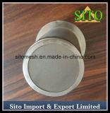 Filtro líquido tecido do cilindro da filtragem do engranzamento de fio