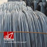 Vergella laminato a caldo SAE1006 a basso tenore di carbonio 1008 dell'acciaio legato