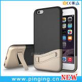 iPhone 6 케이스를 위한 잡종 Kickstand 이동 전화 상자