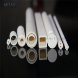 Tubo de cerámica el 99% Al2O3 del óxido de aluminio para la alta Aplicación-Ketao de la obstinacia