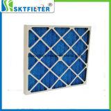 De la cartulina del marco de la fibra de vidrio del filtro filtro de aire industrial pre
