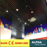 Потолок металла u ый дефлектором алюминиевый
