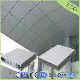 Изогнутые алюминиевые панели сота для декоративной панели стены