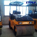 Nagelneue doppelte Trommel-Straßen-Rolle 3.5 Tonnen-Straßen-Rollen-Preis
