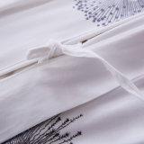 Bedsheet 100% caro do algodão da fonte da fábrica para o apartamento
