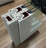 Woodbrin UPVC Double Panels Porta deslizante com vidros duplos