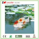 Venta caliente flotante Pescado Figurita Pond decoración, hecha de PU y poliresina