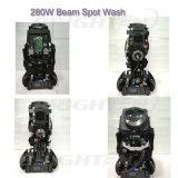 Illuminare l'indicatore luminoso capo mobile della lavata del punto del fascio di 280W Pointe