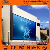 Anunciando o indicador de diodo emissor de luz P16 ao ar livre impermeável da tela video