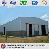 ISO 증명서를 가진 Eco-Friendly Prefabricated 강철 구조물 창고