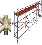構築のための高品質によって電流を通される足場Cuplock