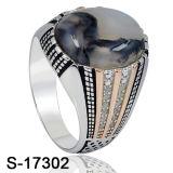 Argento di qualità superiore 925 dell'anello dei monili di disegno