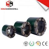 Биты диаманта PCD Nq 75mm поликристаллические компактные