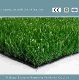 Трава земли футбола конструкции поля спорта искусственная