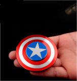 Spinner van de Hand van de Spinner van kapitein America EDC Hand friemelt de Creatieve Kubus