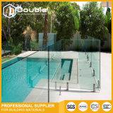 Sin cerco cerco Baranda balaustrada de vidrio para la piscina o balcón