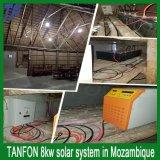 энергетическая система солнечной силы 2kw (весь комплект) с решетки &on решетки для домашней пользы