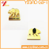 Pin fait sur commande de revers avec le cadeau d'insigne de Pin de broche (YB-HD-42)