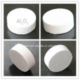 99.999% pálete da alumina da pureza elevada para o cristal da safira
