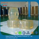 en rideau transparent en bande de PVC de nature de dîner normal de vente