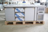 ventilador de las puertas 1000L 4 que refresca el refrigerador del anuncio publicitario del acero inoxidable 304
