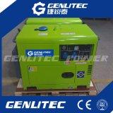 generatore diesel silenzioso raffreddato aria 5kw con il comitato di comando digitale