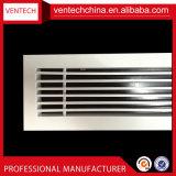 Hvac-Systems-Aluminiumdecken-Rückkehr-Luft-lineares Stab-Gitter