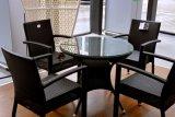 Appartamento commerciale per qualsiasi tempo con la mobilia di alluminio del rattan del blocco per grafici
