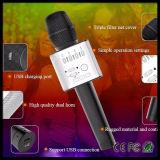 Диктор микрофона Karaoke Bluetooth портативного мобильного телефона профессиональный миниый беспроволочный