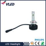 독점적인 렌즈 최고 밝은 Philips LED 맨 위 램프 LED 헤드라이트 9006 9006 H4