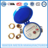 Einzelnes Strahlen-Wasser-Messingmeßinstrument