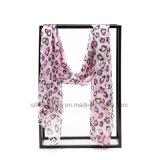 Het nieuwe Ontwerp drukte de Multifunctionele Lange Sjaal van de Zijde van de Chiffon voor Vrouwen af