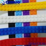실리콘 Legos는 장난감을 건축하는 Nimuno 루프를 끈으로 엮는다