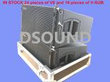 """V8 de """" Serie Met drie richtingen van de Lijn van Neodymium Dubbele 10"""