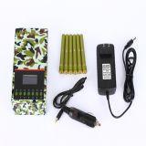Stoorzender van het Signaal van de Telefoon van de Kwaliteit van het leger de Draagbare Handbediende Mobiele