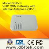 내부 안테나 GoIP-1I를 가진 1 채널 통신로 VoIP GSM 게이트웨이