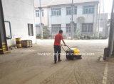 Marcher derrière la machine de nettoyage de plancher industriel Sweeper