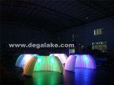Diodo emissor de luz que ilumina a barraca inflável da abóbada/parede inflável para a feira profissional