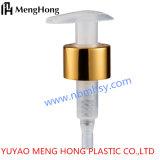 24/410 di pompa dorata opaca della lozione della pompa dorata lucida di alluminio di plastica della pompa