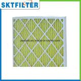Pre filtro de la cartulina del filtro de aire para la cabina de aerosol