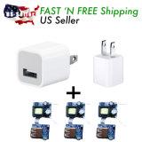 Заряжатели стены заряжателей USB высокого качества 5V 1A для iPhone 5s