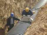 PEの二重壁の波形の管の排水の管