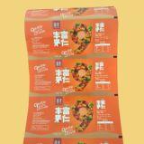 Película plástica de la hoja del alimento al por mayor para las películas de la bolsa del bocado que laminan