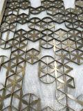 Panneau de mur de décoration de l'acier inoxydable 3D