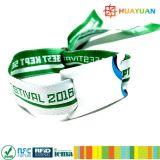 EreignisWristbands des Musik-Festival-Gewebe-RFID des VinylNFC Ntag213
