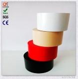 Bande jaune de pipe de PVC avec l'adhésif intense (50*20Y)