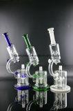 """"""" Geavanceerde Microscoop """" 4 Boorplatforms 16 van de Spatlap van Perc van Raketten de """" Waterpijp van het Glas"""
