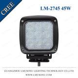 4X4 weg vom Straßen-Automobil 5 Zoll CREE 45W LED Flut-Arbeits-helle fahrende Lichter