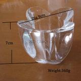 Il vetro urgente ultra chiaro per l'illuminazione H005, fori è disponibile per G9, E14, E27